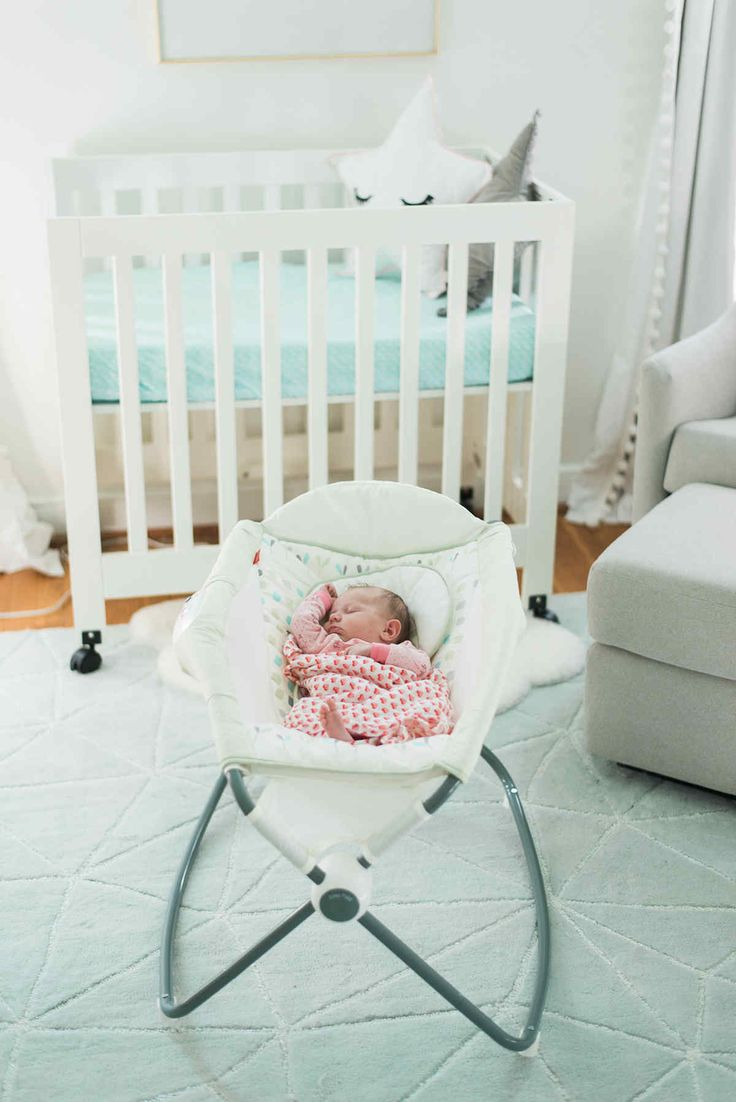 Babyletto origami mini crib the playroom by mdb - Baby room ideas small spaces property ...