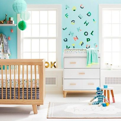 Babyletto Hudson Crib In Washe The Playroom By Mdb